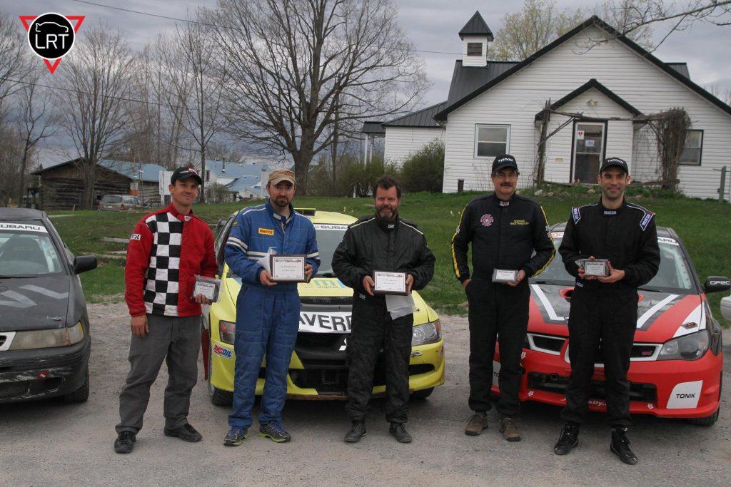 Bruno Laverdière Gagnant Lanark Rally