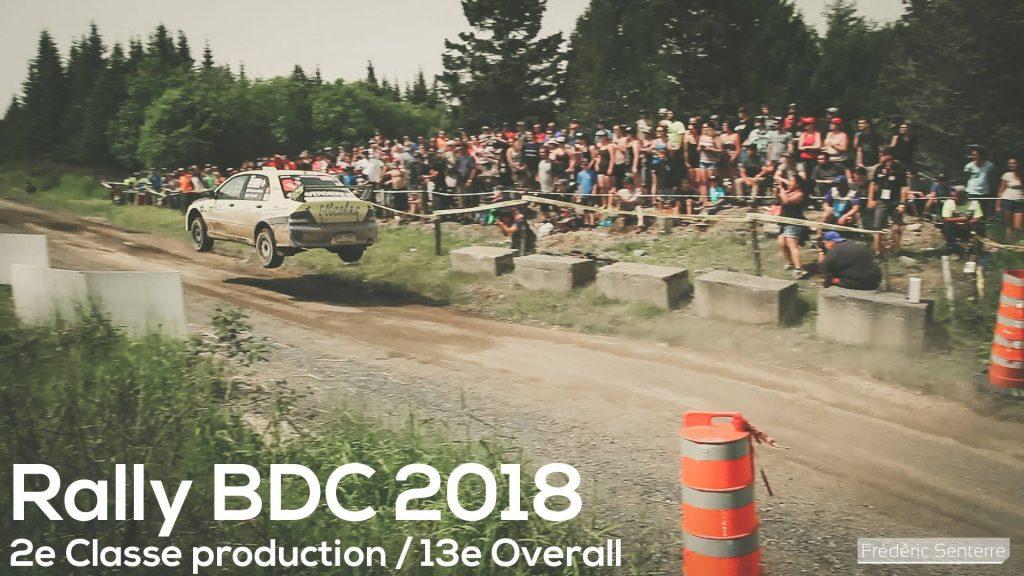 Rallye Baie des chaleurs 2018