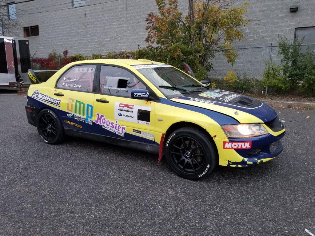 Rallye Mitsubishi Evo - Charlevoix CRC