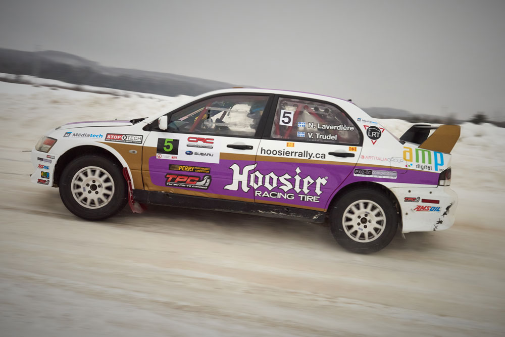 Mitsubishi Evolution 8 Rally Car -Winter Rally