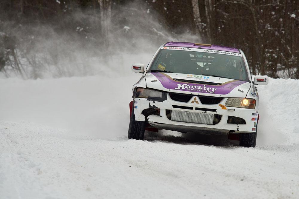 Mitsubishi Evolution 8 Rally Car -Winter Rally
