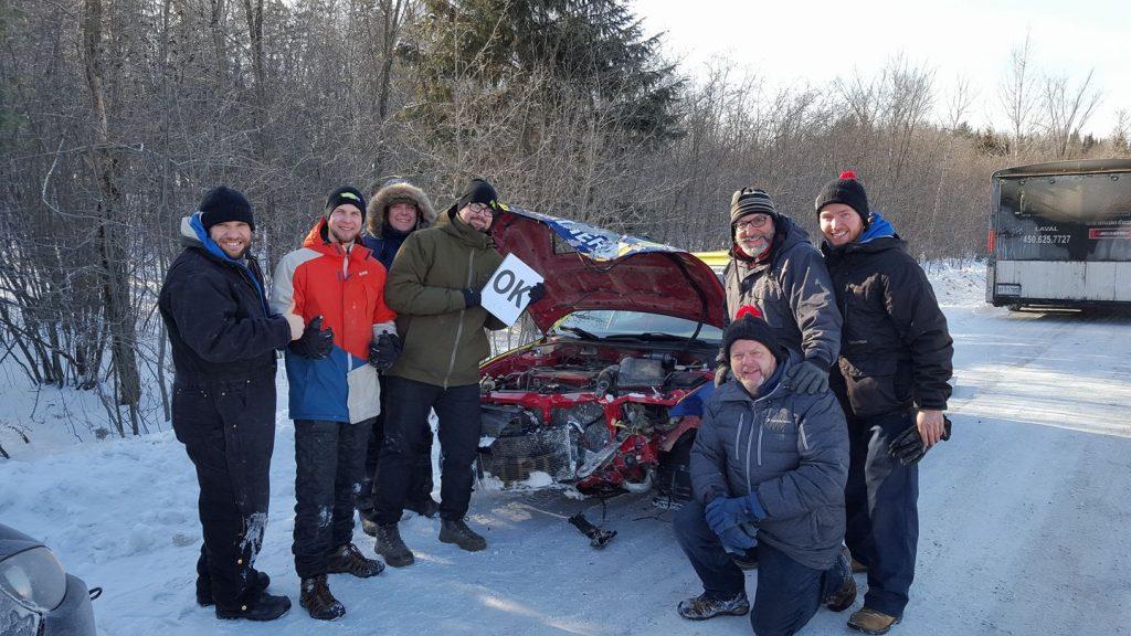 Laverdière Rally Team - After Crash - Rally Maniwaki