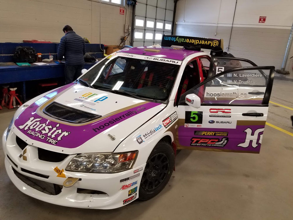 Mitsubishi Evolution 8 Rally car